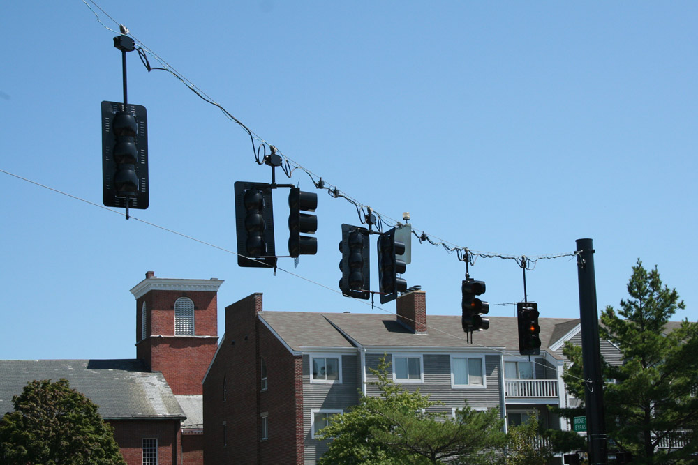 Salem Massachusetts - Traffic lights