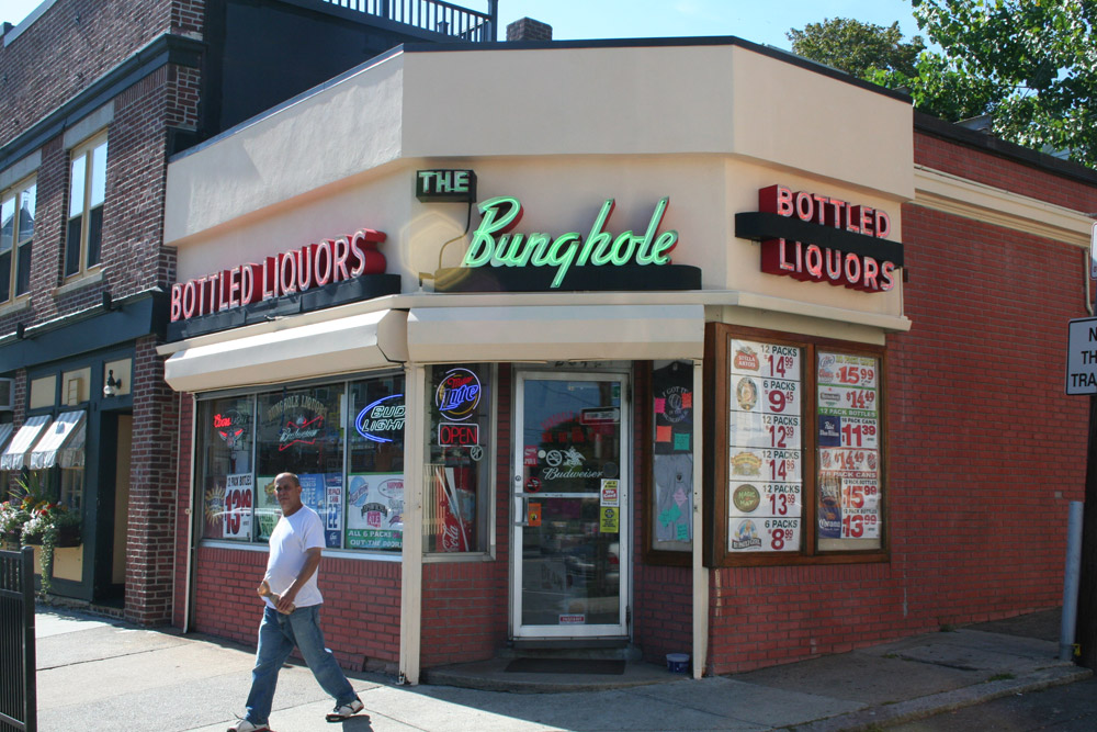 Salem MA, The Bunghole store front