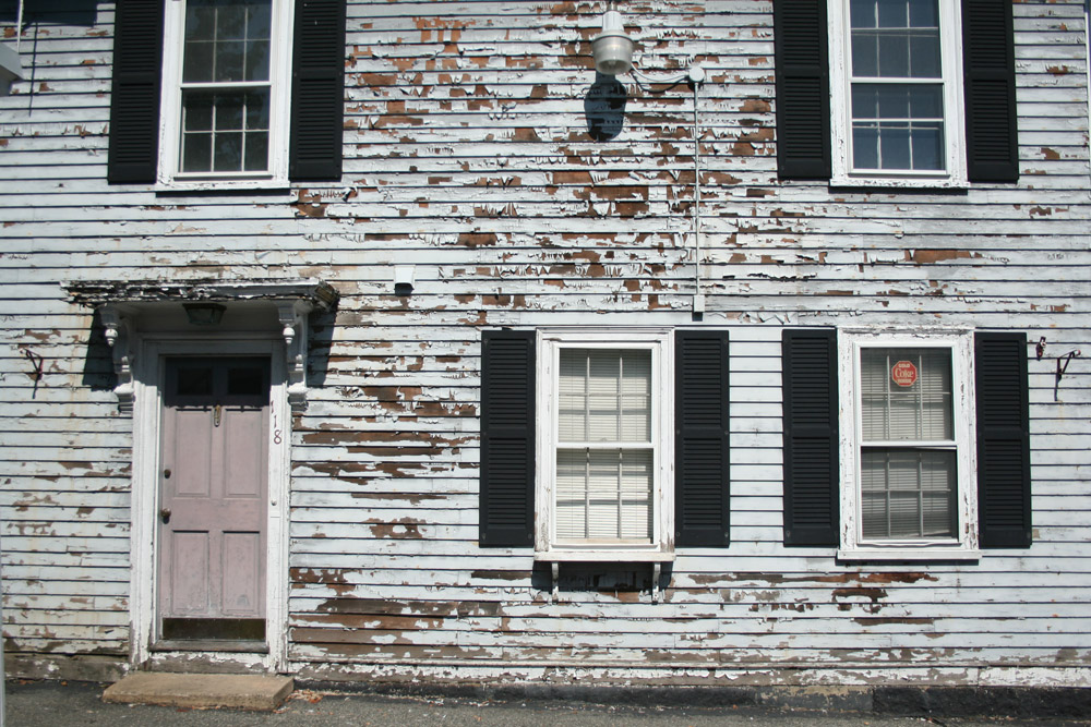 Francois Soulignac - Salem MA - Old front house in wood