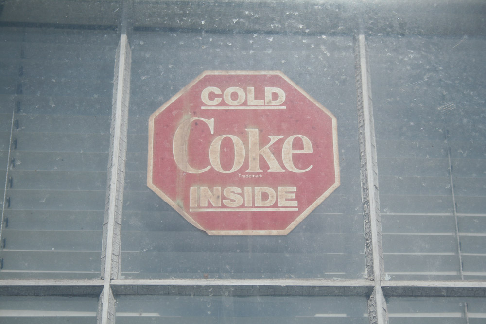 Salem MA, Cold Coke Inside vintage sign
