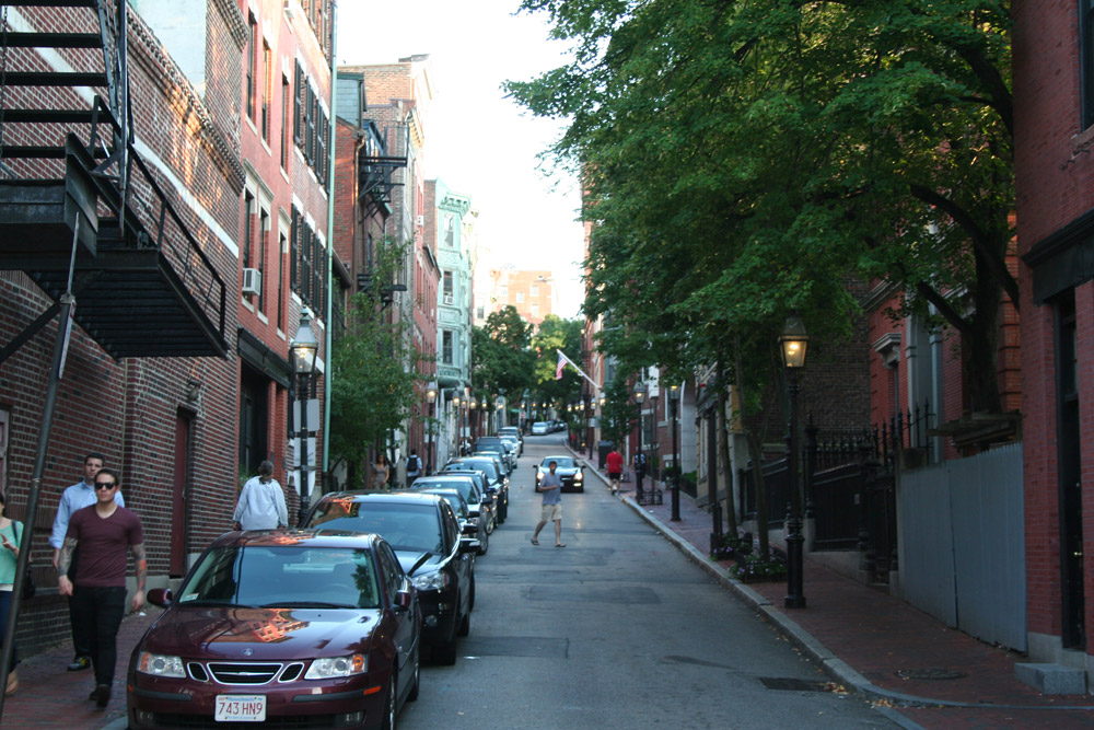 Francois Soulignac - Streets of Boston - Old street