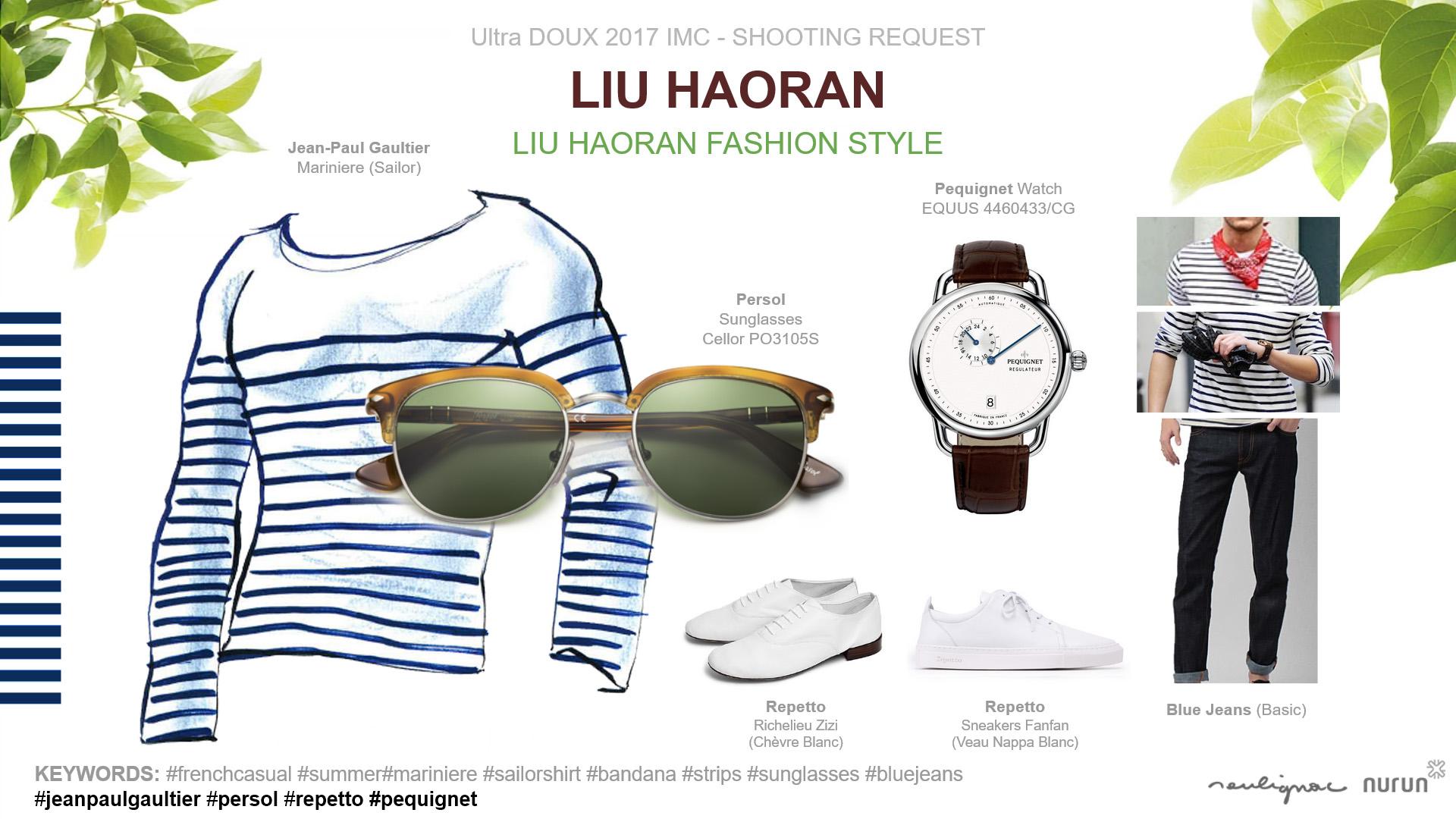 L'Oréal China - Garnier Ultra DOUX - Liu Haoran in France - FASHION STYLE - Francois Soulignac - Nurun Publicis Shanghai
