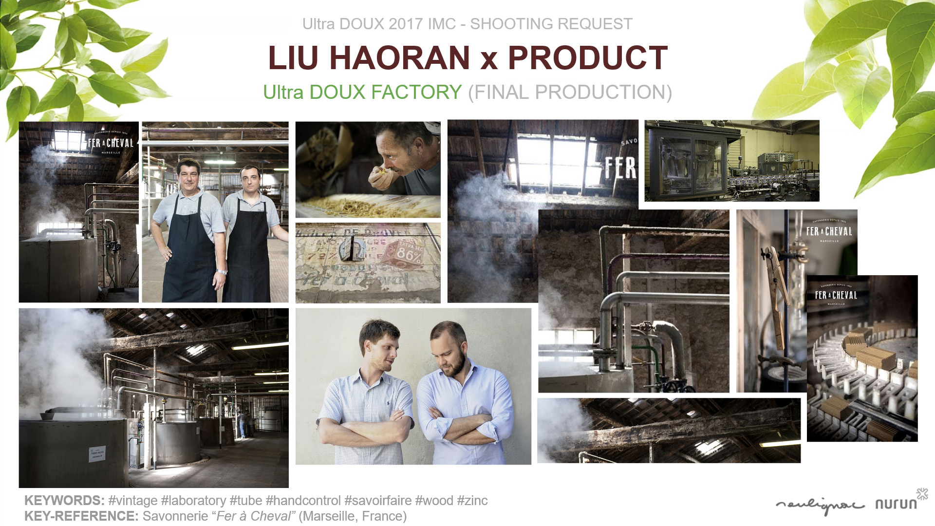 L'Oréal China - Garnier Ultra DOUX - Liu Haoran in France - PRODUCT x FACTORY Final production - Francois Soulignac - Nurun Publicis Shanghai