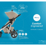 Maxi-Cosi China - Dorel Juvenile - Lila stroller key visual - Researches by Francois Soulignac, Digital Creative & Art Director - MADJOR Labbrand Shanghai, China
