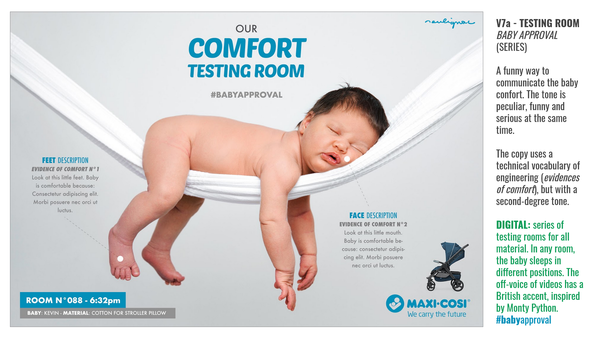 Maxi-Cosi China - Dorel Juvenile - Lila stroller key visual - Researches by Francois Soulignac, Digital Creative & Art Direction - MADJOR Labbrand Shanghai