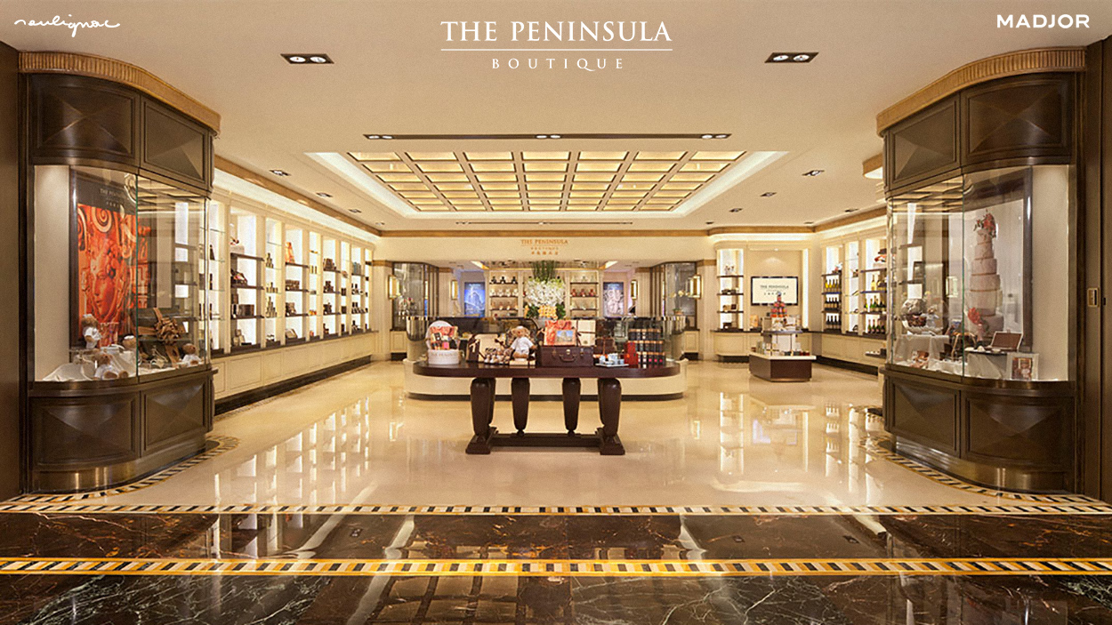 The Peninsula Shanghai Boutique Arcade, China - Photo by The Peninsula Boutique - Francois Soulignac - Digital Creative & Art Direction - Labbrand Madjor Shanghai, China