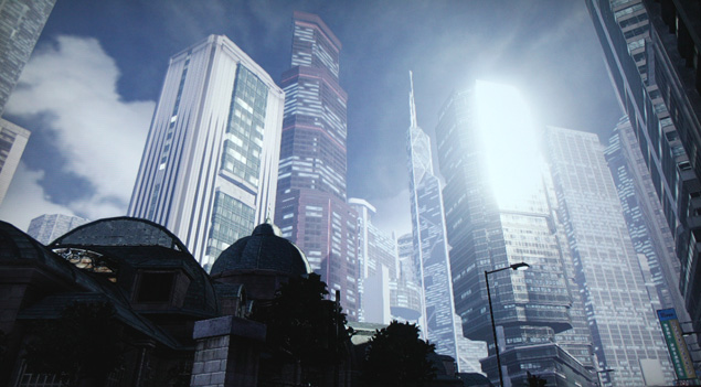 Virtual tourism - Hong Kong, Video Game Photography - Sleeping Dogs, Building