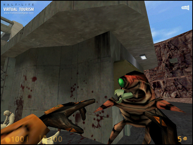 Virtual Tourism New-Mexico Black Mesa - Videogame Photography Half-Life 1