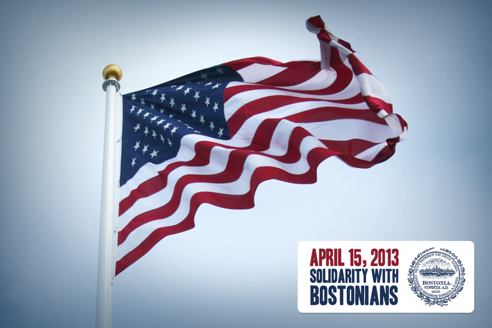 April 15, 2013 - Solidarity with Bostonians