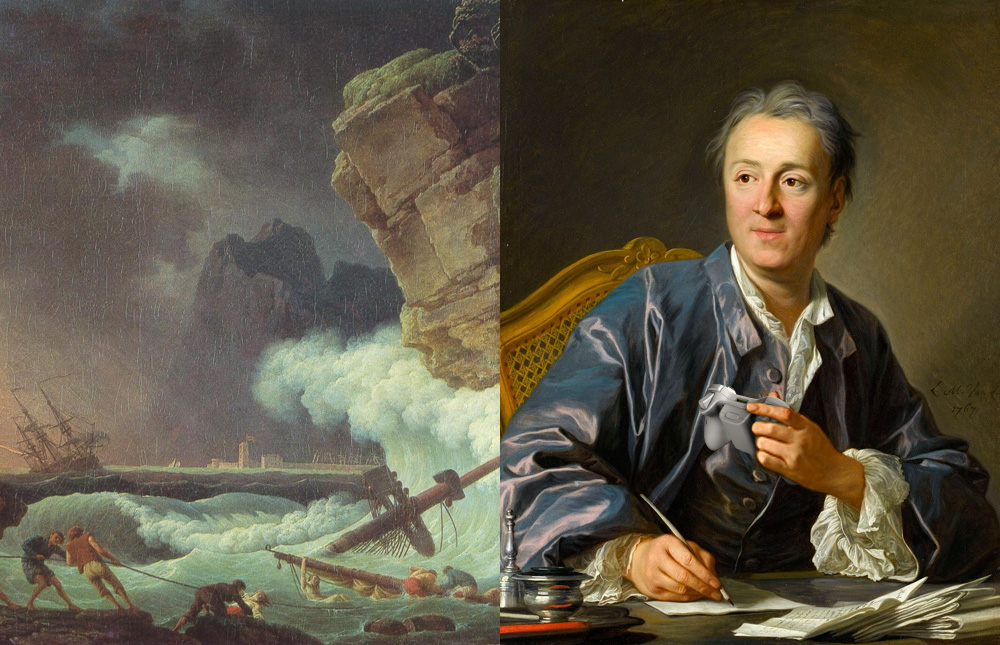 Denis diderot essay on painting
