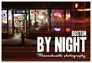Inspiration from Massachusetts - Boston by Night