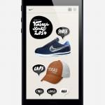 Francois Soulignac - Nike Vintage - Responsive Web Design - RWD (Iphone5) - Home classic