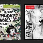 Francois Soulignac, Bar Rouge Shanghai, New flyers branding, Art Direction, Mock-up researches V1