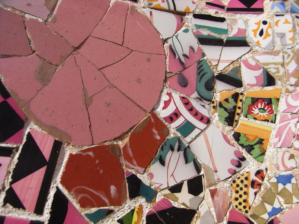 Francois Soulignac - Barcelona Antoni Gaudi ceramics
