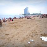 Francois Soulignac - Barcelona dirty beach, Spain