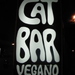 Francois Soulignac - Barcelona Cat Bar Vegano shop sign