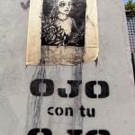 Francois Soulignac - Barcelona Street Art - OJO CON TU OJO
