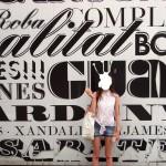 Francois Soulignac - Barcelona Typography Mercat de Sant Antoni black