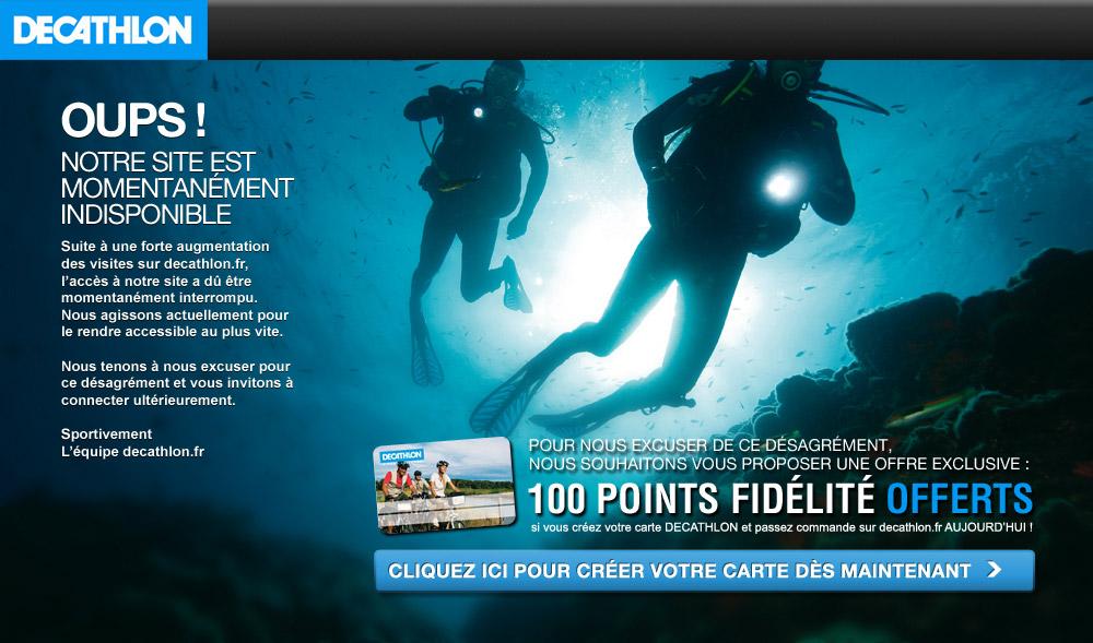 Francois Soulignac - Decathlon Eshop - 404 Error page