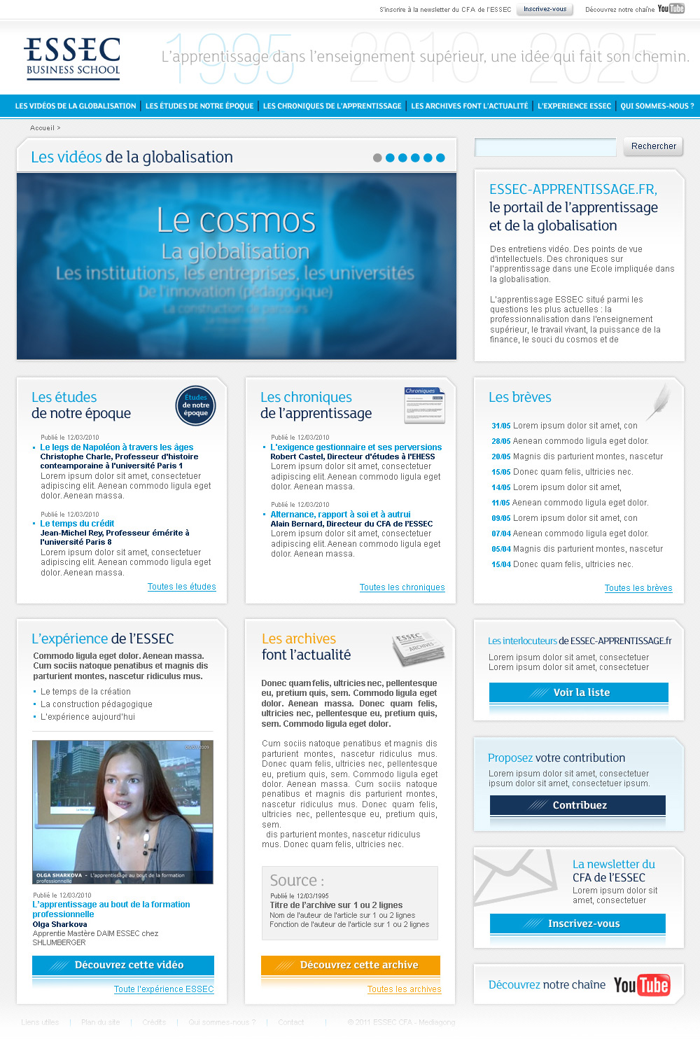 ESSEC Business School | Website CFA Apprentissage - Home Page