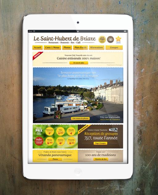 Francois Soulignac - Digital Strategy for Restaurant - Homepage