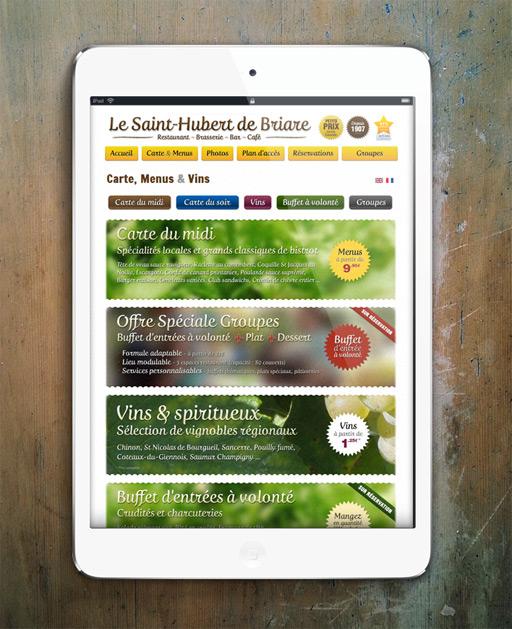 Francois Soulignac - Digital Strategy for Restaurant - Menus