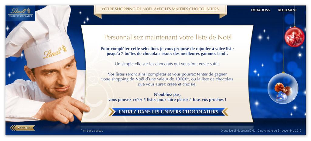 Francois Soulignac - Lindt Noel - Personal Shopper - Introduction