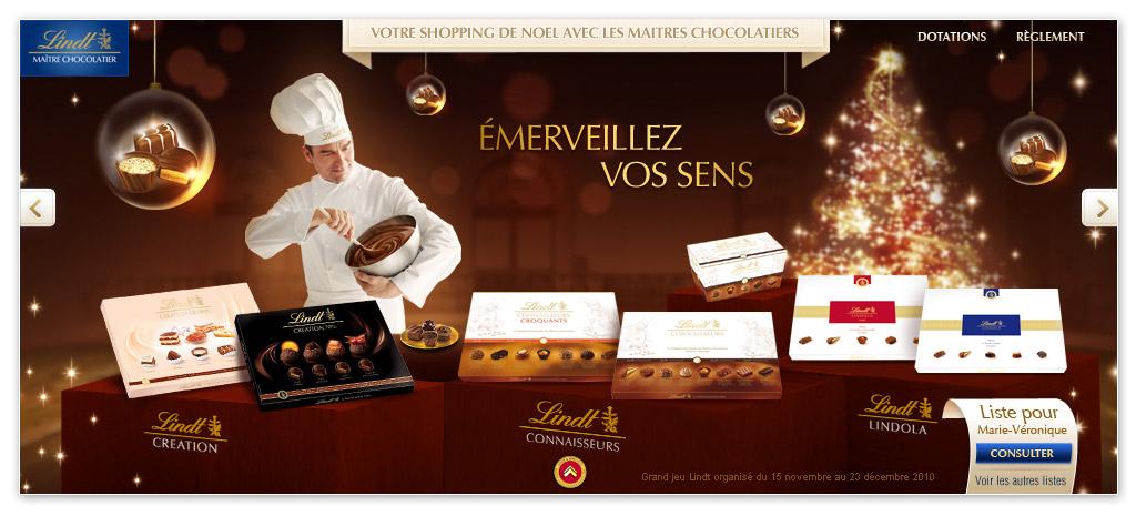 Francois Soulignac - Lindt Noel - Personal Shopper - Lindt Connaisseurs Page