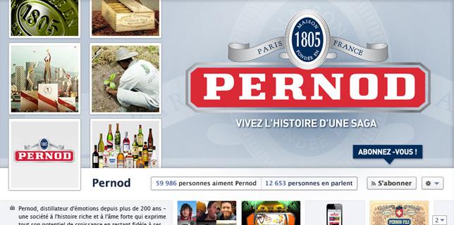 Francois Soulignac - Pernod Ricard - Facebook Timeline