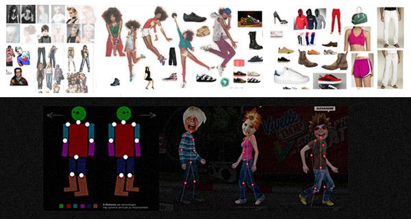 Francois Soulignac - Vivelle Dop L'Oréal - Characters Design Vivelle City