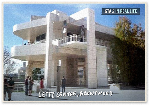 Gta in real life - Los Angeles - Getty Centre Brentwood