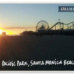 Gta in real life - Los Angeles - Pacific Park Santa Monica beach