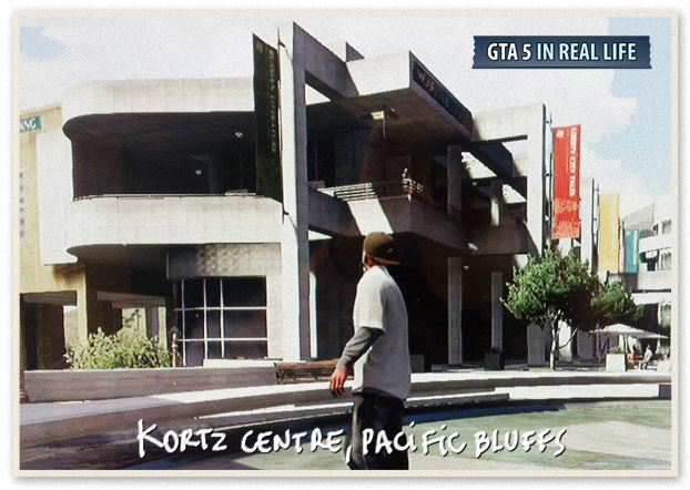 Gta in real life - Los Santos - Kortz Centre Pacific Bluffs