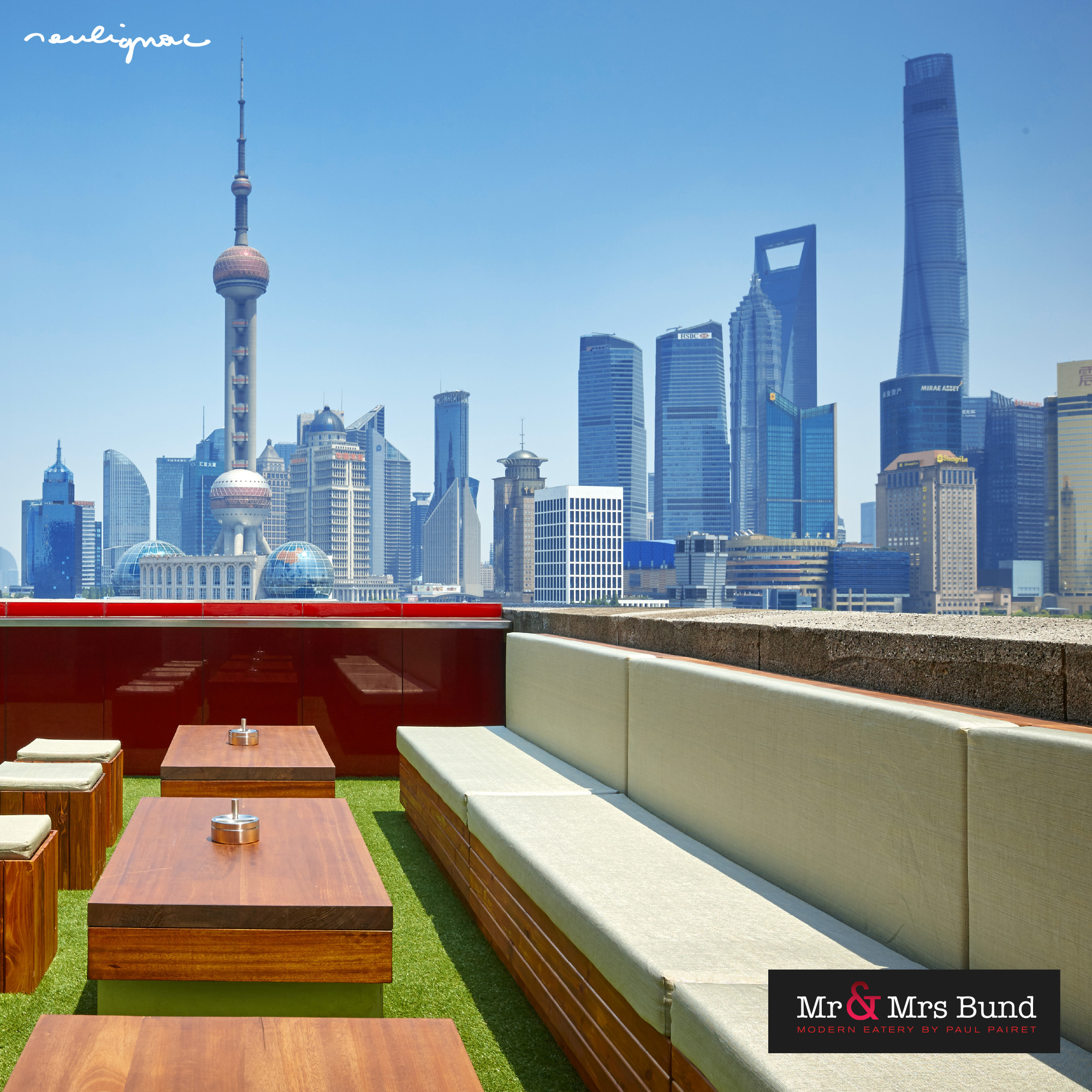 Mr & Mrs Bund Shanghai, Modern Eatery by Paul Pairet, François Soulignac, Creative Direction & Art Direction, VOL Group China