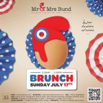 Mr & Mrs Bund Shanghai, French National Day Celebration Campaign, Brunch, Design by François Soulignac, VOL Group China