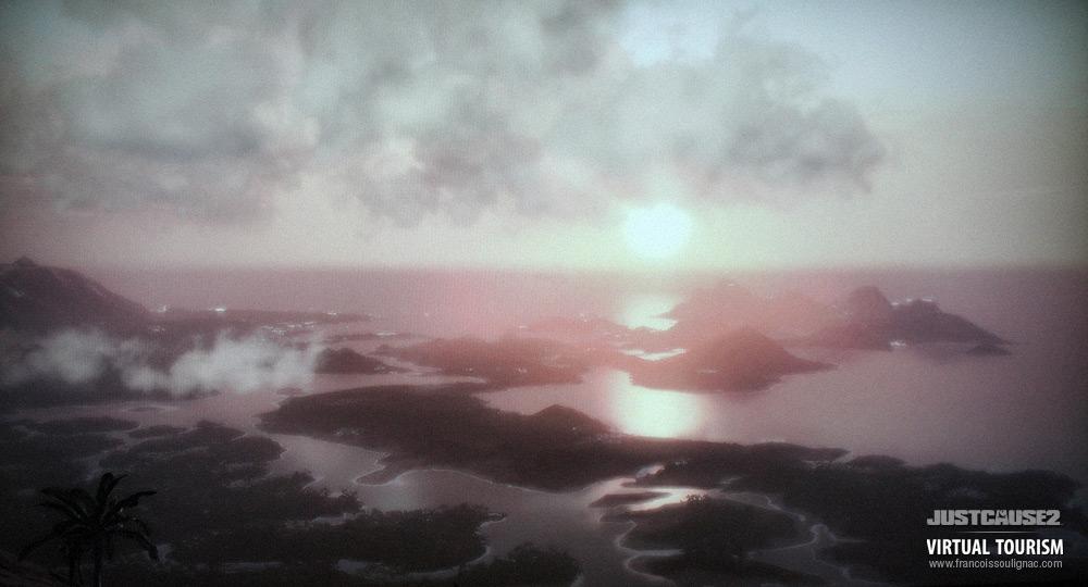 Virtual tourism Panau - Video game Photography Just Cause 2