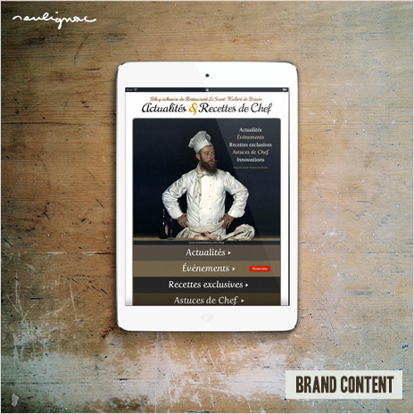 © Francois Soulignac - Digital Strategy for Restaurant | Blog & Brand Content (Le Saint-Hubert)