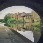 London Architecture, Regent's Canal below a bridge