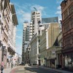 London architecture, street, day, sunshine