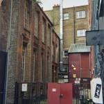 London architecture, old little street