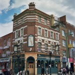 London architecture, The Archers storefront, 42 Osborn Street