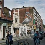 London street art, ROA and Ben Slow street art