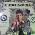 New York graphic design, Dollar Al Pacino, Who do i trust ? I trust me