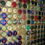 New York store front, Bottle caps wall, Barcade