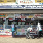 New York Store front at Coney Island