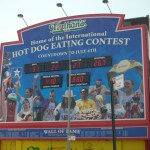 Home of the International Nathan's Hot Dog Eating Contast at Coney Island (Countdown to July to 4th)