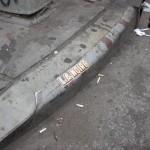 RockStar Game street marketing on Manhattan's sidewalk (L.A Noire)