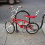 Design New York, Vintage children's bike on Manhattan street