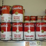 New York Design, Campbell's condensed tomato/chiken noodle soups