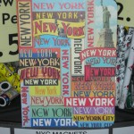 Notebook for tourist (new york branding) at Chelsea market